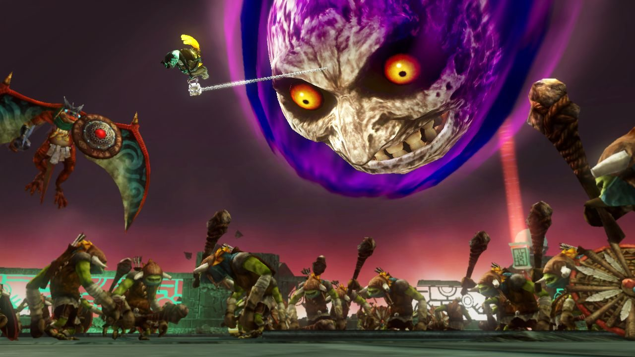 Hyrule Warriors moon