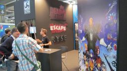 Visita al Booth Koch Media – GamesWeek 2014