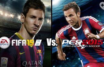 FIFA 15 vs PES 2015: il Confronto Finale