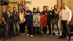 Evento VIP EPIC: Assassin's Creed Unity e Rogue al Lucca Comics