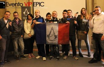 Evento VIP EPIC: Assassin's Creed Unity e Rogue al Lucca Comics