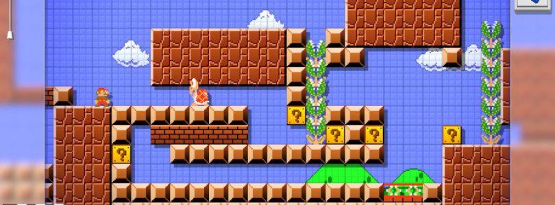 Piccolo ritardo per Mario Maker