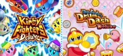 kirby fighters and Dedede Drum Dash