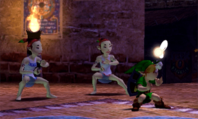 majora's mask dance