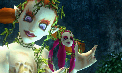 majora's mask great fairy mask