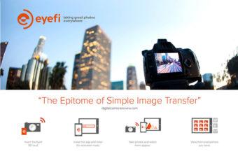 Eyefi presenta Eyefi Mobi Pro, la più potente WiFi SD Card di sempre