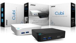 MSI presenta il nuovo mini-PC Cubi