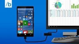 Con Windows 10 lo smartphone diventa un PC