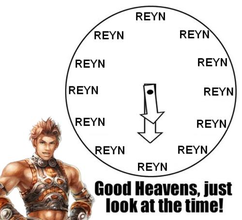 Xenoblade Chronicles REYN TIME!