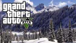 Una mod porta la neve in GTA V: Online