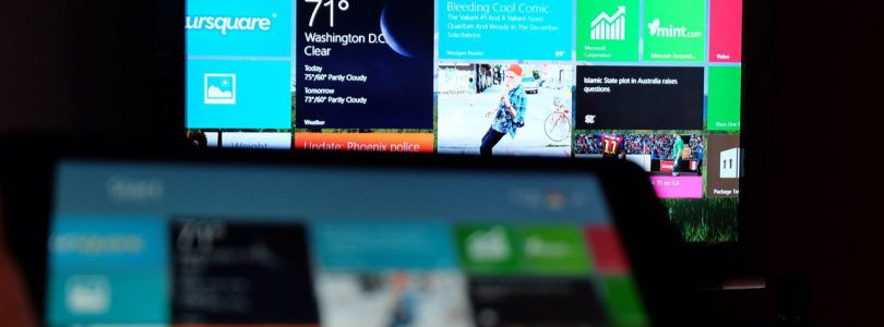 Wireless Display nell'ultimo preview update Microsoft
