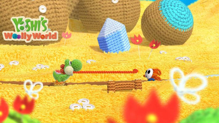 Yoshi's Woolly World header