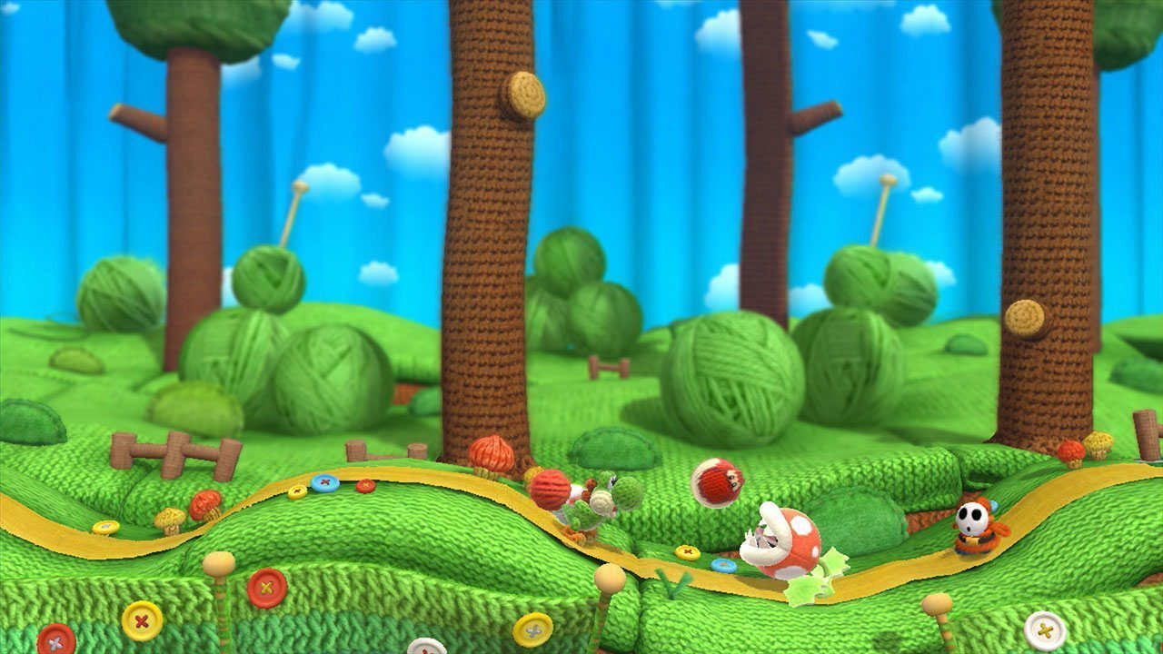 Yoshi Woolly World two player mode