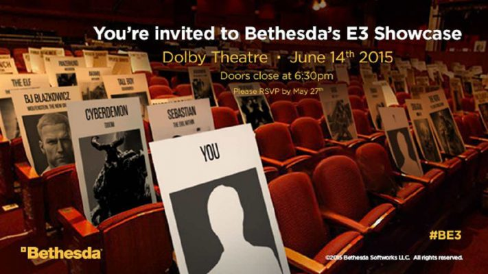 E3 2015: Conferenza Bethesda – Seguila qui in diretta streaming
