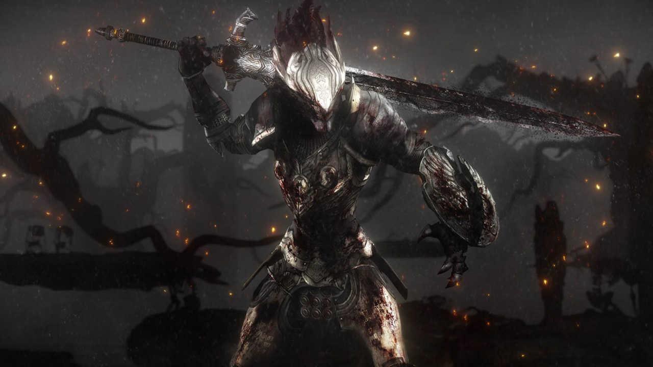 Due modelli di PlayStation 4 a tema Dark Souls III