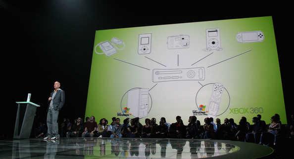 La presentazione di Xbox 360