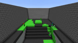Splatoon ricreato in Minecraft