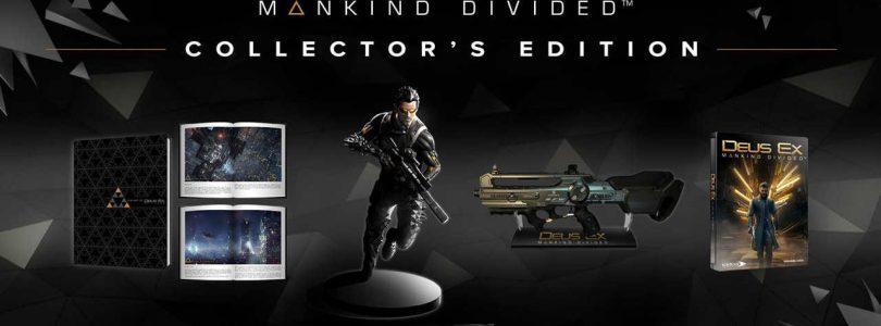 Ecco la collector's edition di Deus Ex: Mankind Divided