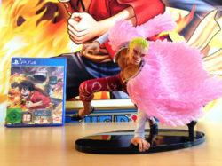 One Piece PW3: la Doflamingo Edition in foto