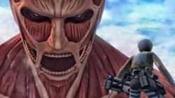 Il gameplay di Attack on Titan su PS4