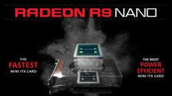 AMD presenta la nuova Radeon R9 Nano