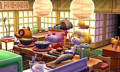 Animal Crossing Happy Home Designer pause