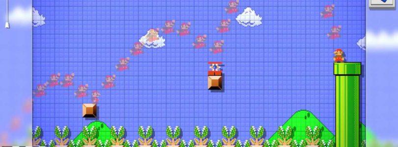 Super Mario Maker trail