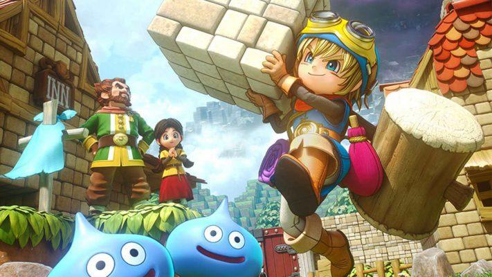 Nuove immagini per Dragon Quest Builders