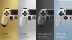 Nuovi colori per Dualshock 4 e faceplate colorati per PS4