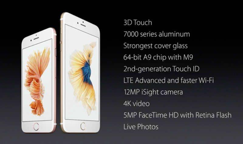 iPhone 6 scheda