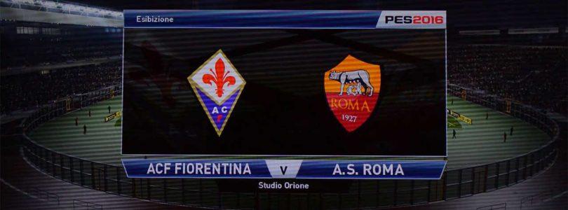 71° Minuto   Fiorentina – Roma (Serie A)   PES 2016
