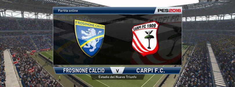 71° Minuto   Frosinone – Carpi (Serie A)   PES 2016