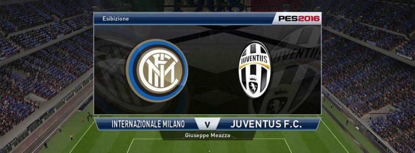 71° Minuto   Inter – Juventus (Serie A)   PES 2016