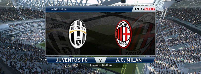 71° Minuto   Juventus – Milan (Serie A)   PES 2016