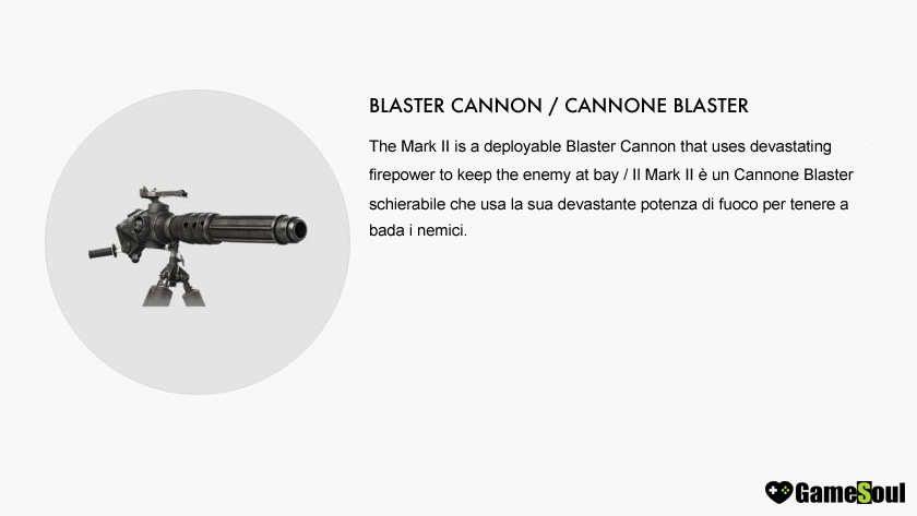 Cannone-Blaster