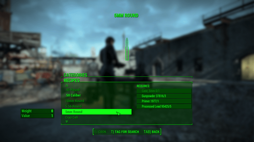 Fallout 4 Guida alle Mod Craftable Ammunition (3)