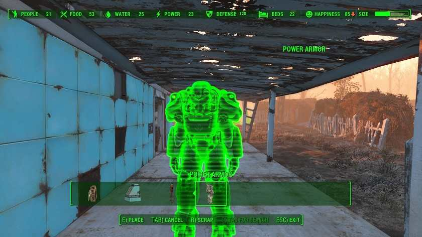 Fallout 4 Guida alle Mod Movable Power Armor (2)