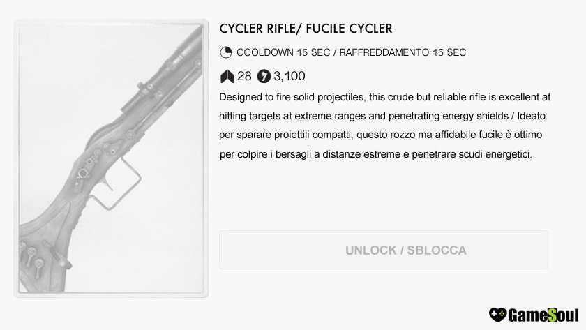 Fucile-Cycler