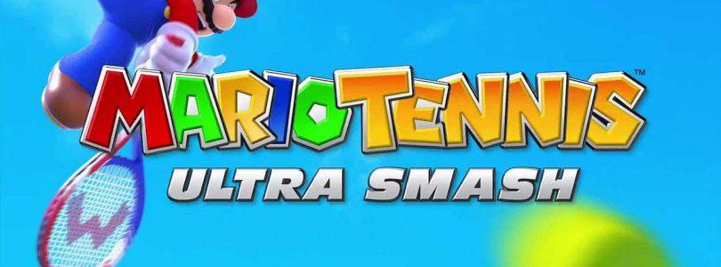 Mario Tennis Ultra Smash header