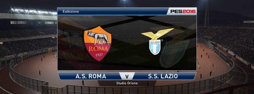 71° Minuto   Il derby della capitale!   Roma – Lazio (Serie A)   PES 2016