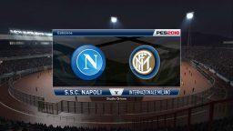 71° Minuto | Napoli – Inter (Serie A) | PES 2016