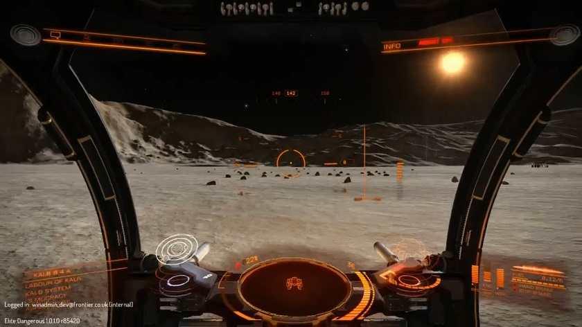 Elite: Dangerous Horizon - SRV Cockpit