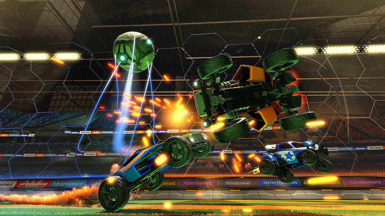 Rocket League su Xbox One avrà oggetti di Sunset Overdrive