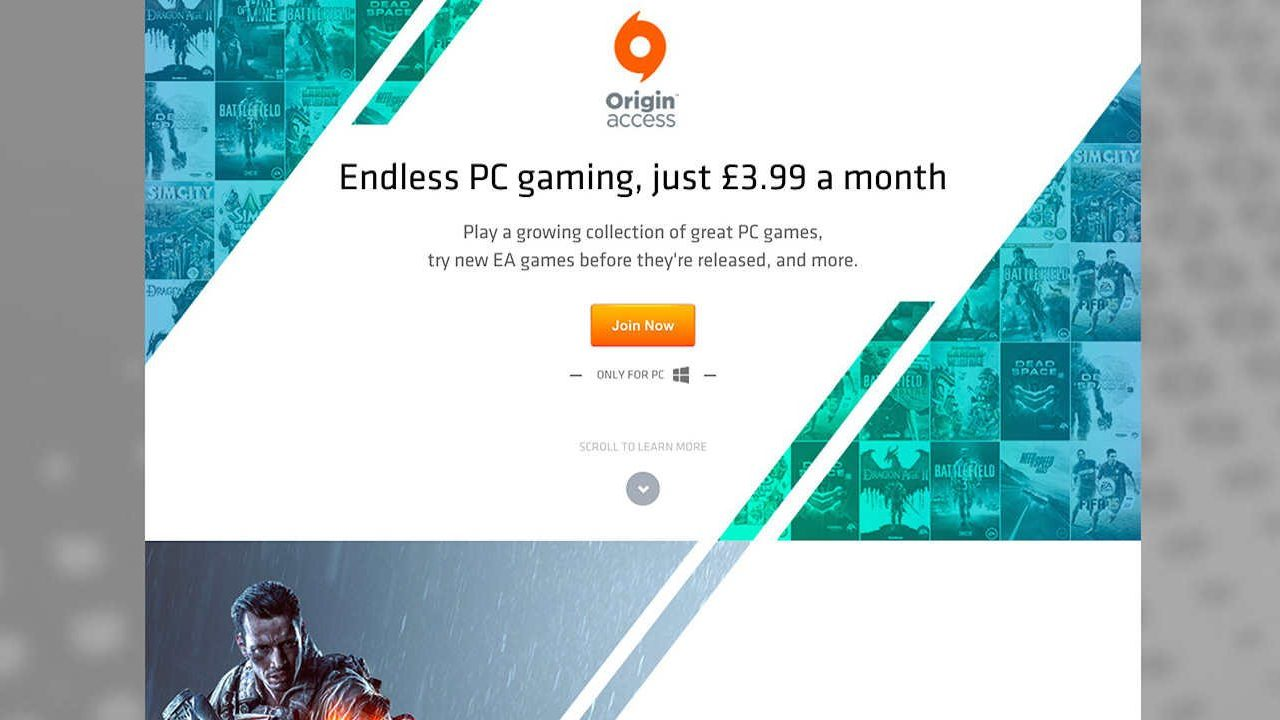 Origin Access sbarca su PC