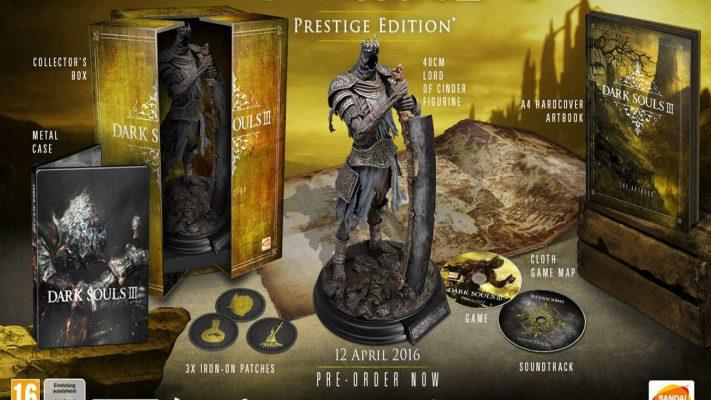 In USA la Prestige Edition di Dark Souls 3 sold out in due ore