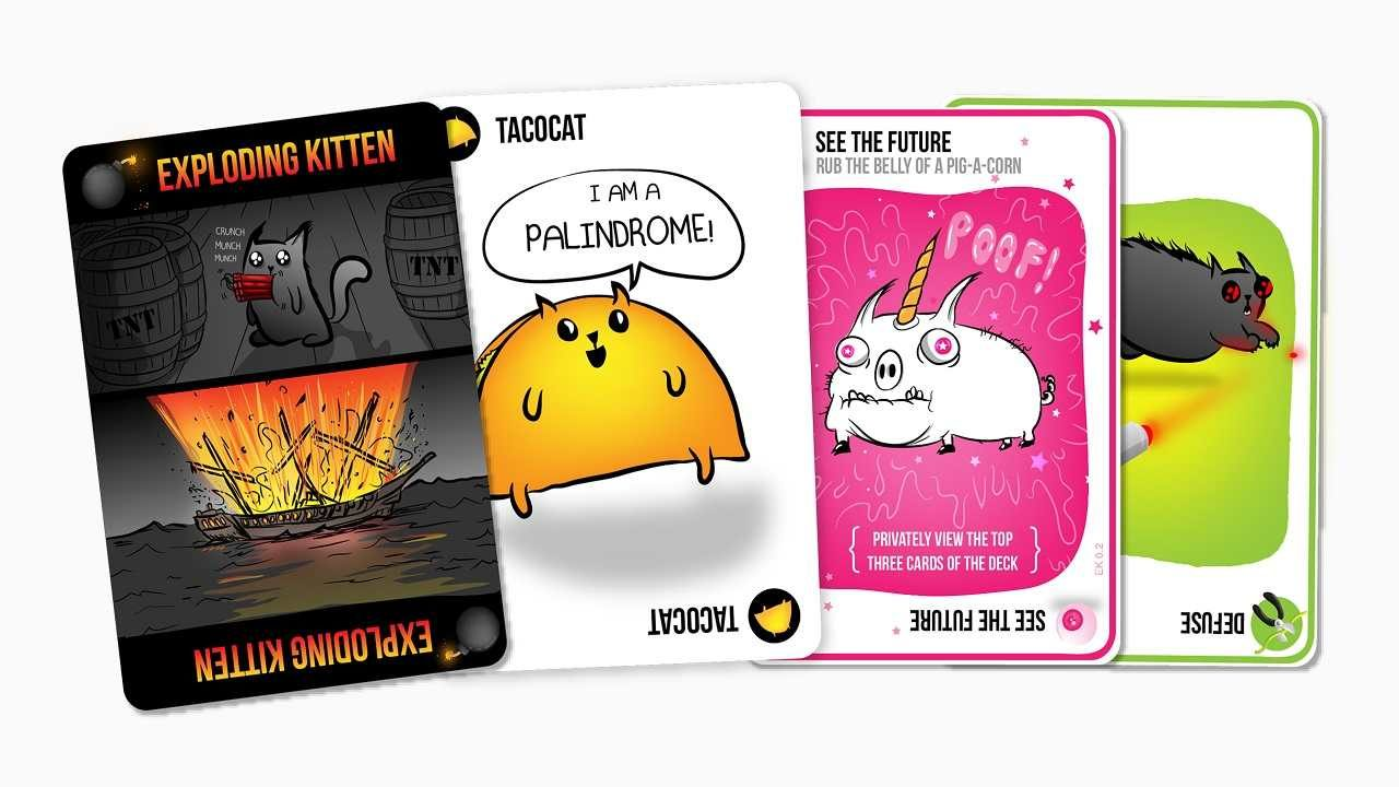 Exploding Kittens arriva su iOS