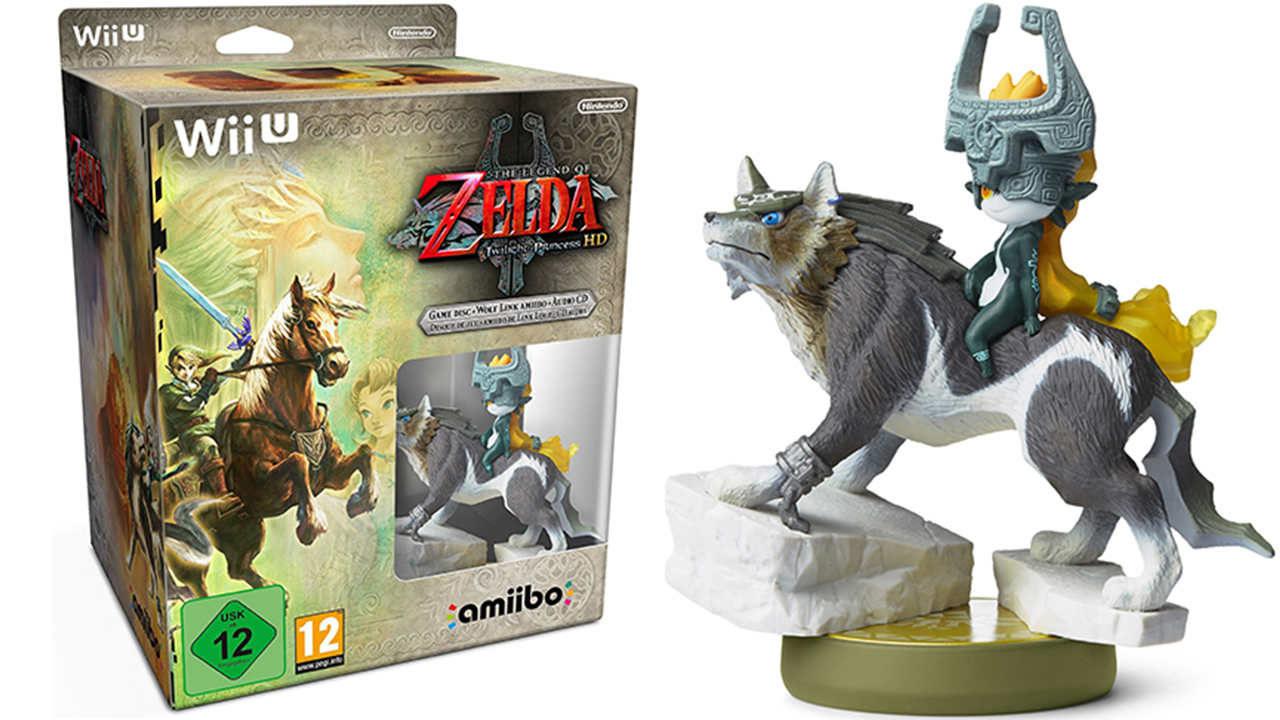 L'amiibo di Wolf Link ed i contenuti bonus in Twilight Princess HD
