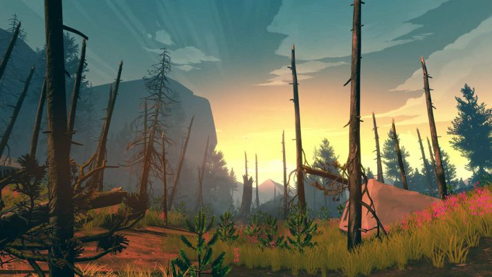 Firewatch a 1080p/30fps su PS4