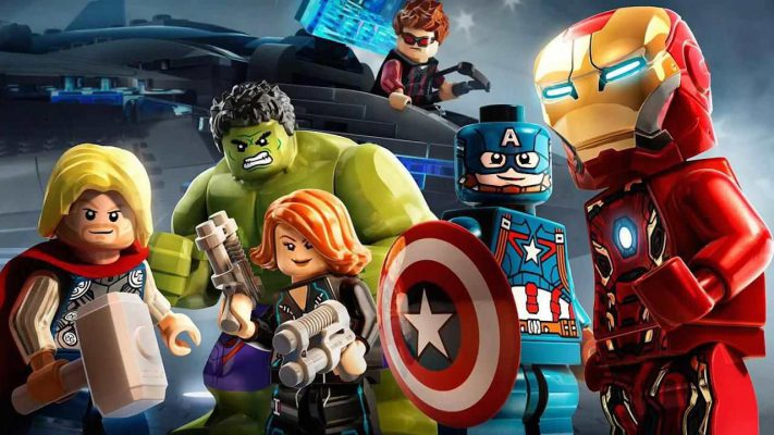 I supereroi a mattoncini si uniscono in LEGO Marvel Collection