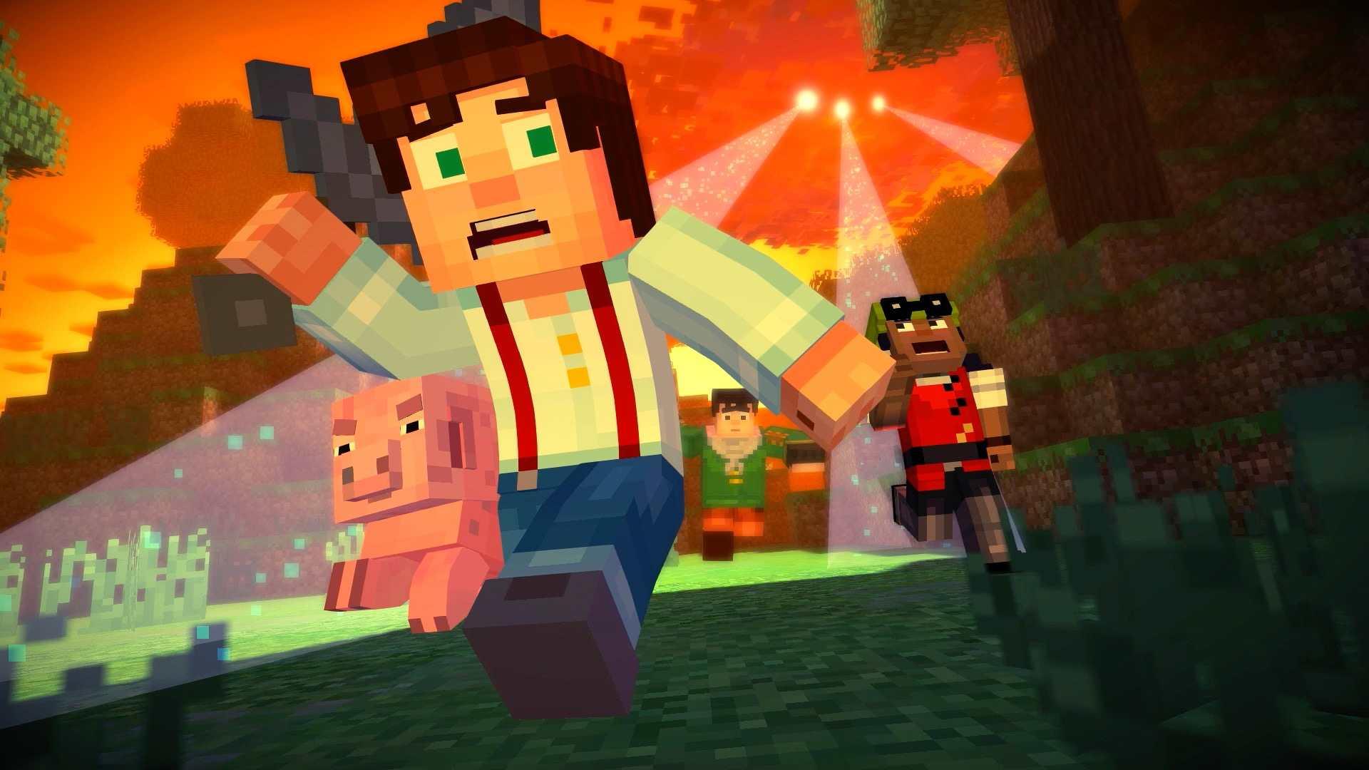 Скачать Minecraft: Story Mode - big-games.info